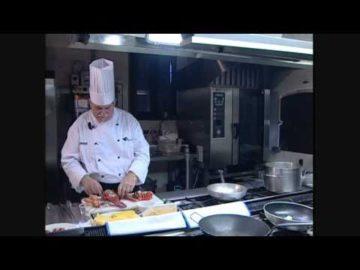 Lasagnetta aperta all' astice